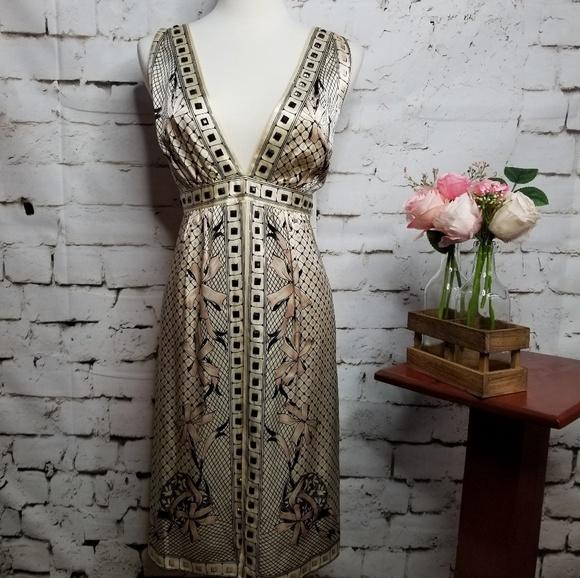 Nanette Lepore Dresses & Skirts - Nanette Lepore Silk Mystery Chemise Sleeveless